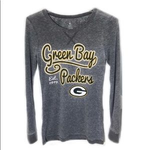 NFL Green Bay Packers Long Sleeve Graphic Tee